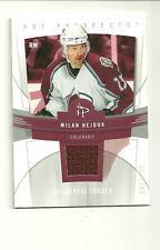 MILAN HEJDUK 06-07 FLEER HOT PROSPECTS RED HOT MATERIALS JERSEY 52/100 COLORADO