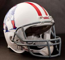 TOM BRADY NEW ENGLAND PATRIOTS Schutt OPO Football Helmet FACEMASK - GRAY