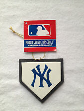 RARE NY NEW YORK YANKEES HOME PLATE ORNAMENT CHRISTMAS TREE HOLIDAY GIFT