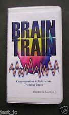 Brain Train concentration & relaxation training 2 Audio cesstt set Daniel G Amen