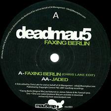 DEADMAU5 - FAXING BERLIN - MAU5001 Clubhit Vinyl