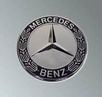 original Mercedes Benz Motorhaube Emblem Stern Ersatz Abdeckung Kappe Avantgarde