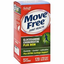 Move Free Advanced Glucosamine Chondroitin Plus MSM extra cartilage support-120c
