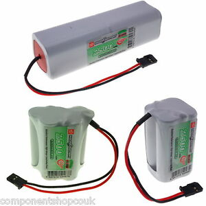 4.8v 6v 9.6v AA 2500mAh Vapex Instant Receiver Transmitter Handset Battery Pack