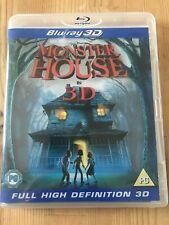 Monster House 3D Blu-ray 3D 2010 Region Free Bluray Full High Definition