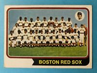 1974 TOPPS Boston Red Sox  Team Card with Red Sox Records #567