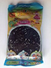 Hama Midi 5mm Bügelperlen im Beutel - Schwarz, 1000 Stück (207-18)