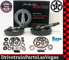 Dana 35 30 Jeep TJ Ring Pinion Gear Set Re-Gear Pkg Master Kits 4.88 ProActive