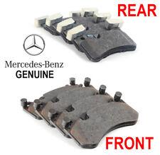 Original OEM 2008-2015 Mercedes AMG C63 Vorne & Hinter Scheibenbremse Pad Set