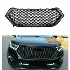 Fit For Ford Edge 2015-2018 Front Bumper Hood Grill Upper Grille Black Honeycomb