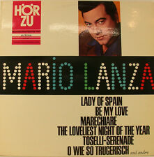 "MARIO LANZA SINGT LADY OF SPAIN BE MY LOVE MARECHIARI.. SAME HÖRZU 12"" LP (h828)"