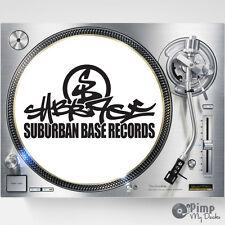 SUBURBAN BASE / SUB BASE DJ SLIPMATS / SLIP MATS X 2 - TECHNICS - STANTON