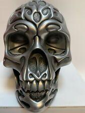Tribal Plata Celta cráneo pesado Escultura Diseño clínica estatuilla 16076