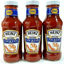 Heinz Original Seafood Cocktail Sauce 12 oz  Bottle Pack of 3