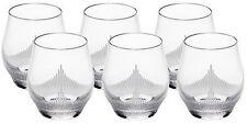 LALIQUE 100 POINTS TUMBLER GLASSES SET OF SIX BNIB #10332900 CRYSTAL WHISKEY F/S