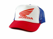 NEW Honda Trucker Hat mesh hat snapback hat red white and blue