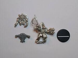 40K Chaos Space Marines- 1x Icon Bearer Standard. Metal. OOP
