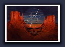 Dead and Company 2018 Tour Original Signed Art Print - Grateful Dead Desert SYF