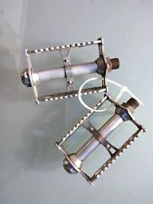 LYOTARD VINTAGE PEDALES POUR VELO COURSE BICYCLE PEDALS ROAD RACING SM