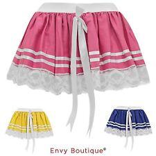 Mesh Party Patternless Short/Mini Skirts for Women
