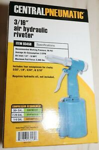 Central Pneumatic Air Hydraulic Riviter 3/16