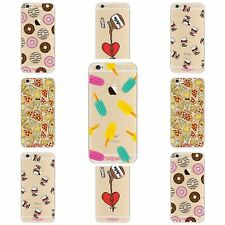 Funny FOOD MONOGRAM PHONE CASE COVER for Samsung