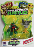 Dojo Raffaello con Shredder Manichino Tartarughe Ninja Turtles Action 6 cm