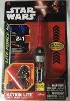 Action Lite Star Wars Mini Light Saber Darth Vader New