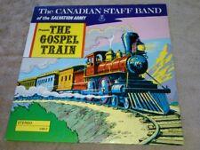 The Canadian Staff Band Presents The Gospel Train LP CSB 2 EX Vinyl Besrcroft
