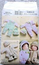 "8013 VOGUE SEWING PATTERN~UNCUT~15"" BITTY BABY&BABY DOLL CLOTHES"