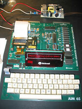 Early Rockwell AIM-65 microcomputer with docs on CD - EPROMs see description
