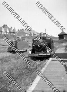 9x Old Negatives.Seaside Fun.Pedal Cars.Boating Lake.Mini Steam Trains.1950.0052