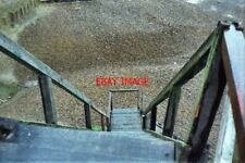 PHOTO  1981 KENT WOODEN STEPS NEAR BISHOPSTONE GLEN BELTINGE THERE MAY BE A RIGH