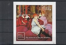 Ghana 2014 MNH World Famous Paintings 1v Imperf S/S Henri Toulouse-Lautrec