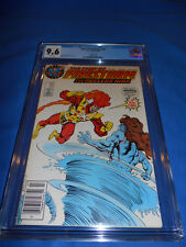 FURY OF FIRESTORM CGC 9.6 NM+ RARE Superman Logo Test Variant White Pages 1987
