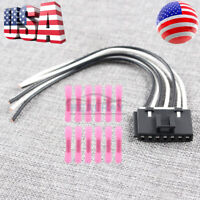 7 Wire Blower Motor Resistor Plug Connector Pigtail for 00-07 GM Yukon 15862656