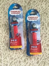 Lot Of Two Thomas & Friends Brush Buddies PEZ Poppin Soft Toothbrushes