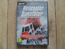PC DVDROM HELICOPTER SIMULATOR search and rescue - NEUF