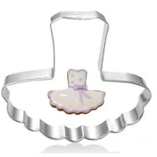 Stainless Steel Cookie Cutter Cake Baking Mould Biscuit DIY Dress Mould♫