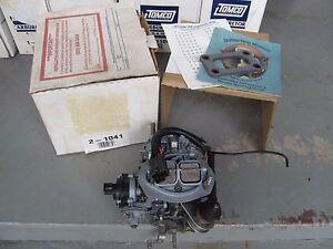 NOS TOMCO Reman Carburetor 1984 Chrysler Dodge Plymouth  2.2L 135ci 2BBL Charger
