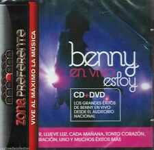 CD/DVD - Benny NEW En Vivo Estoy Desde El Auditorio Nacional FAST SHIPPING !