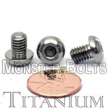 TITANIUM M6 x 8mm - DIN 9427 BUTTON HEAD Socket Cap Screw - BHCS - Ti Hex Allen