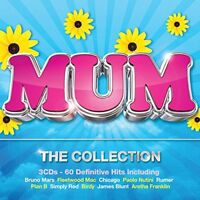 MUM THE COLLECTION NEW 3CD. 60 GREATEST HITS OF THE 60s 70s 80's 90's FOR MOTHER