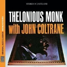 Thelonious & Coltrane, John Monk-Monk with Coltrane (OJC Remasters) CD NUOVO