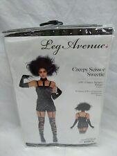 "Sexy Women's 2 PC ""CREEPY SCISSOR SWEETIE"" Hair Cutter Scissor Hands Costume M"