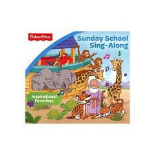 FREE US SHIP. on ANY 2+ CDs! ~Used,Good CD Various: Little People: Sunday School