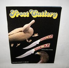 1988-1989 FROST CUTLERY Knife Catalog knives