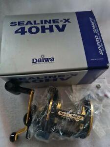 DAIWA SEALINE-X 40SHV MULTIPLIER REEL STAR DRAG BEACH CAST COD BASS UPTIDE NEW