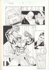 Marvel Knights Spider-Man #15 p.9 - Absorbing Man - 2005 Signed art by Billy Tan Comic Art