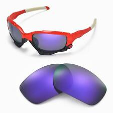 New Walleva Polarized Purple Replacement Lenses For Oakley Jawbone Sunglasses